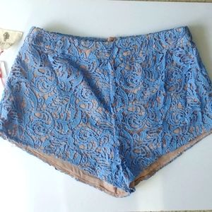 The Jersey Diaries Lace Shorts